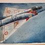 Mirage III c 2eh. Forangeart F. Baldinotti Peintre De l'air