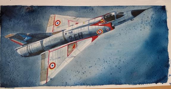 Mirage III c 2eh. Baldinotti François Forangeart Forangeart F. Baldinotti Peintre De l'air