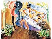 Vida flamenca. Martin De La Cruz