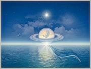 Lever de Saturne. Harald Dastis