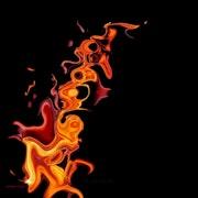 Flamme onirique.