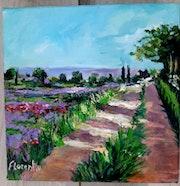 Paysage du sud. Florent V.