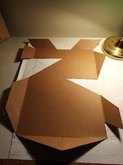 Bac à papier format a4.