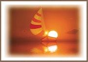 Coucher de soleil. Harald Dastis