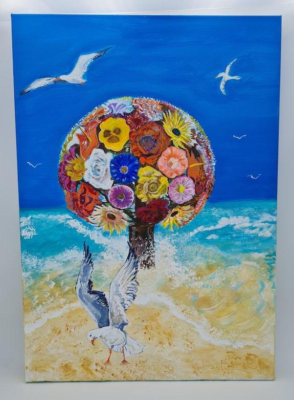 L'arbre de lyon implanter dans l ocean. Christelle Delcourt Christelle Delcourt