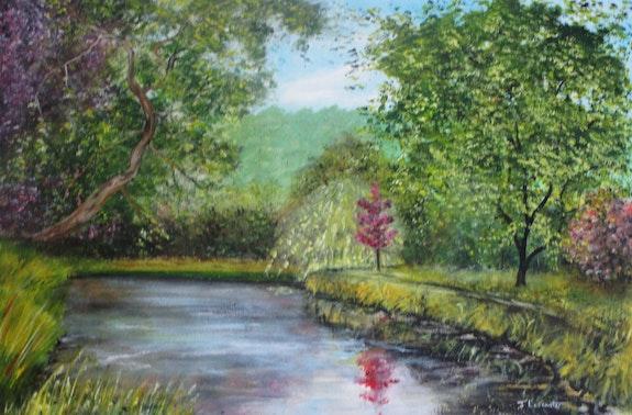 Temple Newsam Pond.  James Lancaster