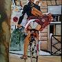 Gigi va à Dijon. Jean Claude Ciutad-Savary. Artiste Peintre