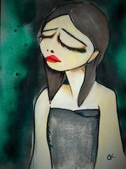 Day 27 La tristesse. Delphine Kalasz