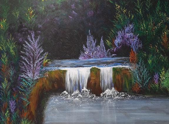 Le petit cour d'eau tranquille. Christelle Delcourt Christelle Delcourt