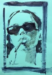Glasses & Cigarette.