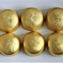 Decalogue Ten Words Two Rows Two Most Important Commandments Gold Sculpture 24.5. Paulus14September