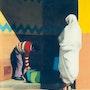 La corvée d'eau. Abderrahmane Doulache