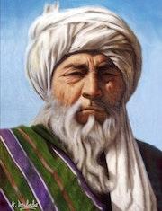L'homme à la barbe blanche. Abderrahmane Doulache
