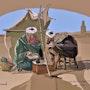 2021-04-15 Le scribe (copie). Michel Normand