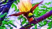 Птицы 021. Fluidartfill