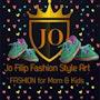 Cute Logo for Princess. Jff Boutique Style Jo. Filip Fashion Stylist