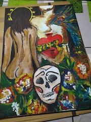 Mexico, fiesta, tradicion Fe y muerte. Vicente Salvador Aixa