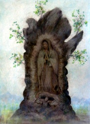 Guadalupes Jungfrau. Alberto Thirion Garcia