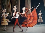 «La danzarina» / «Le danceur». Dela