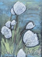 Cotton grass- Vididalsa River. Arlette Sanz Dutheil