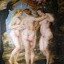 Las tres Gracias de Rubens (Copia). Amilcar