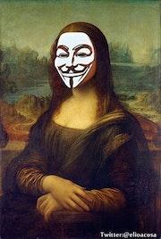 Mona Lisa / Possessed / Guy Fawkes. Elio Acosa
