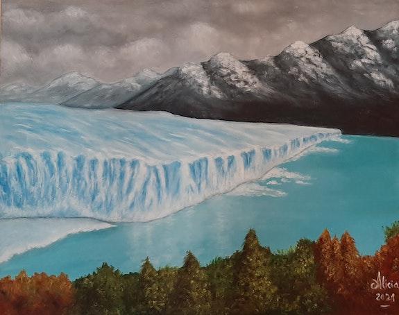 Óleo sobre lienzo. Tamaño 50x40cm. Los bordes están pintados por lo que se pued. Alicia Alicia Cáceres