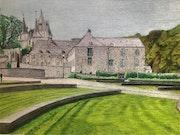 Ancien couvent des Récollets (Récollettines) de Durbuy. Πr Dessins