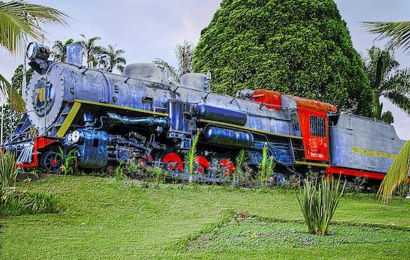 Ferrocarril en colombia. Jaac Arboleda