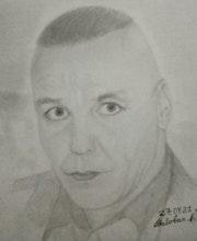 Portrait Till Lindemann. Baloban Nadège