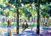 Jardin des Tuileries, Paris. Mirek Kuzniar