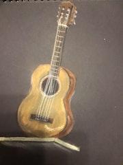 Ma guitare. Christel