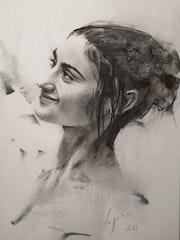 Commissioned portrait. Gergana Vladova