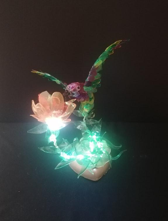 Colibri lumineux. Georges Bonopera Art Et Deco