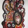 La chaîne humaine. Bertrand Lamouroux
