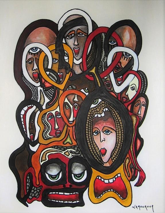 La chaîne humaine. Bertrand Lamouroux Bertrand Lamouroux