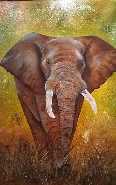 L'éléphant. Nelly Larue Nelly Larue Larue
