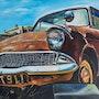 Ford Anglia. Nelly Larue