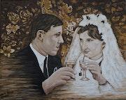 50 Ans de mariage entre la photo et la peinture.