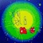 Bin Damélô (logo). Fk