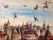 Vol sur Prague.