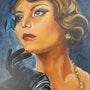 Femme année 30. Nelly Larue