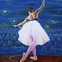 Danseuse classique. Natef