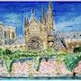 «Radiant Notre Dame». Matteo Lecci