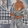 Le miroir. Nelly Larue