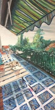 Un Café au Balcon. Karine Babel