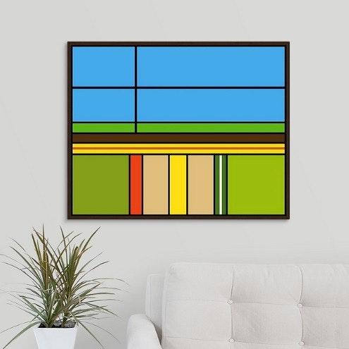 Linear Abstract No. 9. V. E. Van Klazen Veenix