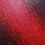 Contemporary painting: Violet iridescent red knife texture. Jonathan Pradillon