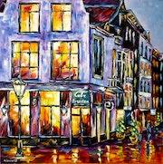 Café Brandon, Amsterdam. Mirek Kuzniar
