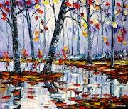 Autumn by the river. Mirek Kuzniar